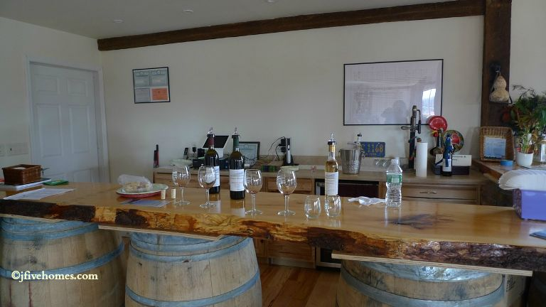 Wine tasting at Clermont Vineyards & Winery